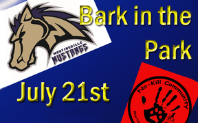 Bark in the Park with the Martinsville Mustangs