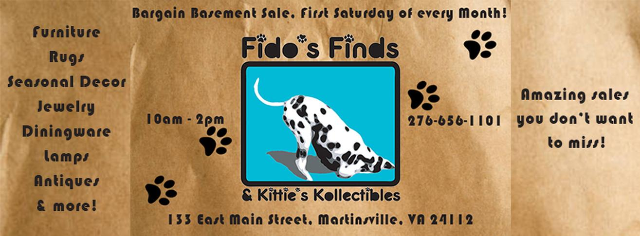 Fido's Basement Sale